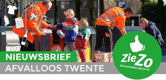 Duurzaam Hellendoorn Nieuwsbrief Afvalloos Twente