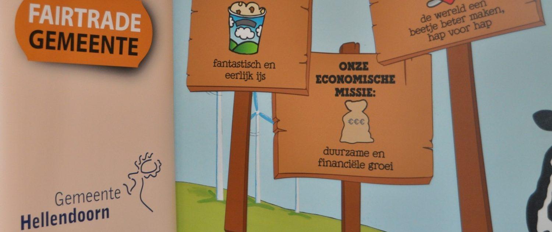 Duurzaam Hellendoorn B&J stickeruitreiking