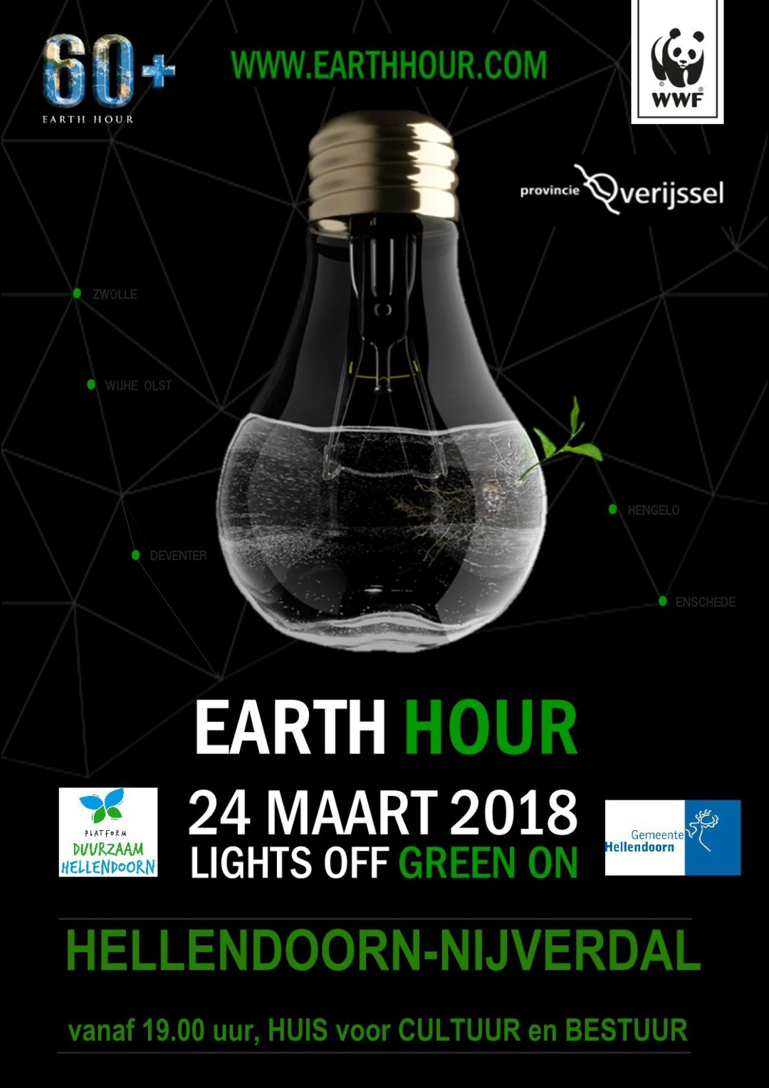 duurzaam hellendoorn Earth Hour 1 2018